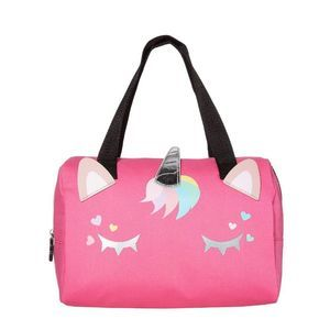 Luv Betsey Unicorn Face Insulated Lunch Tote